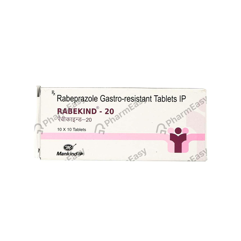 Rabekind 20mg Strip Of 10 Tablets