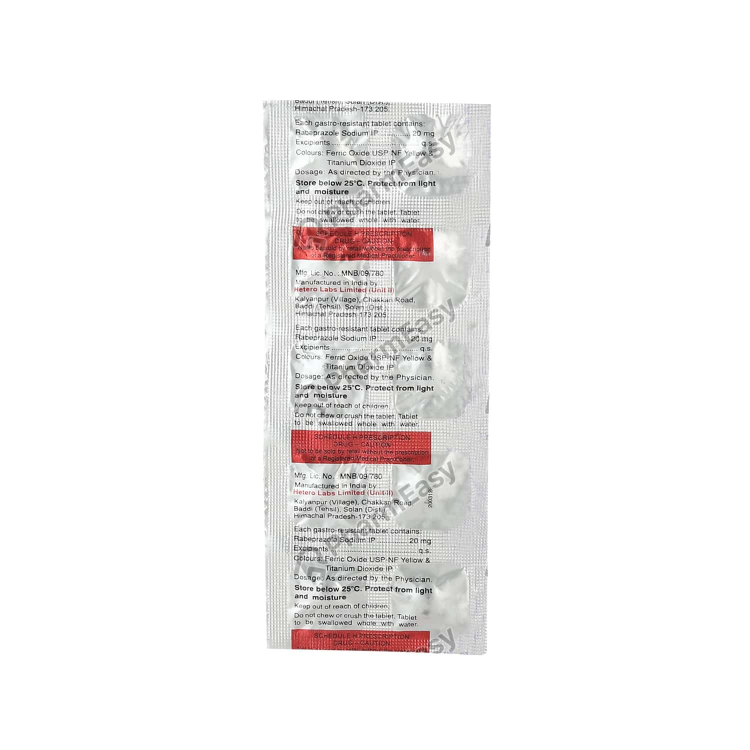 Rabez 20mg Tablet