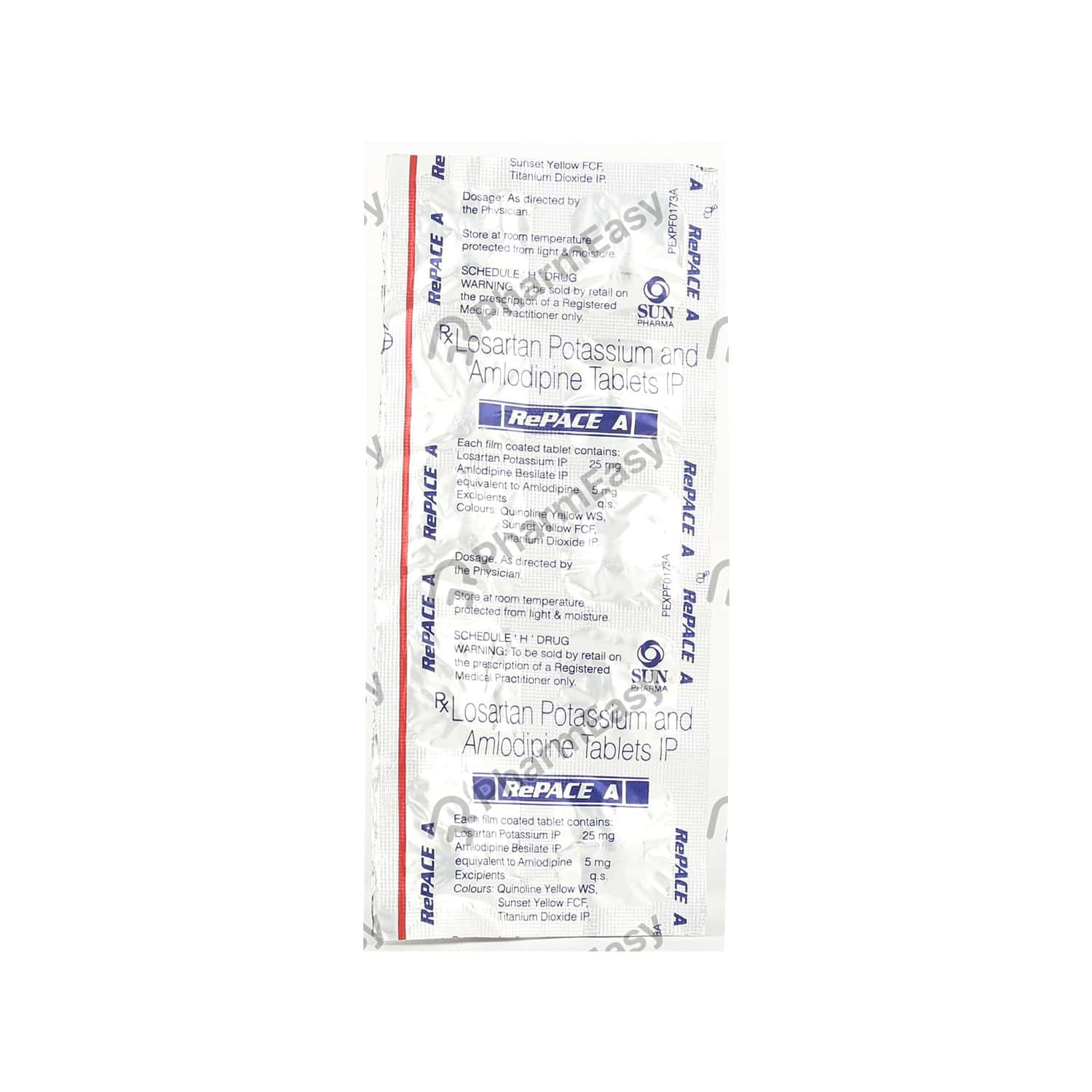 Repace A Strip Of 10 Tablets