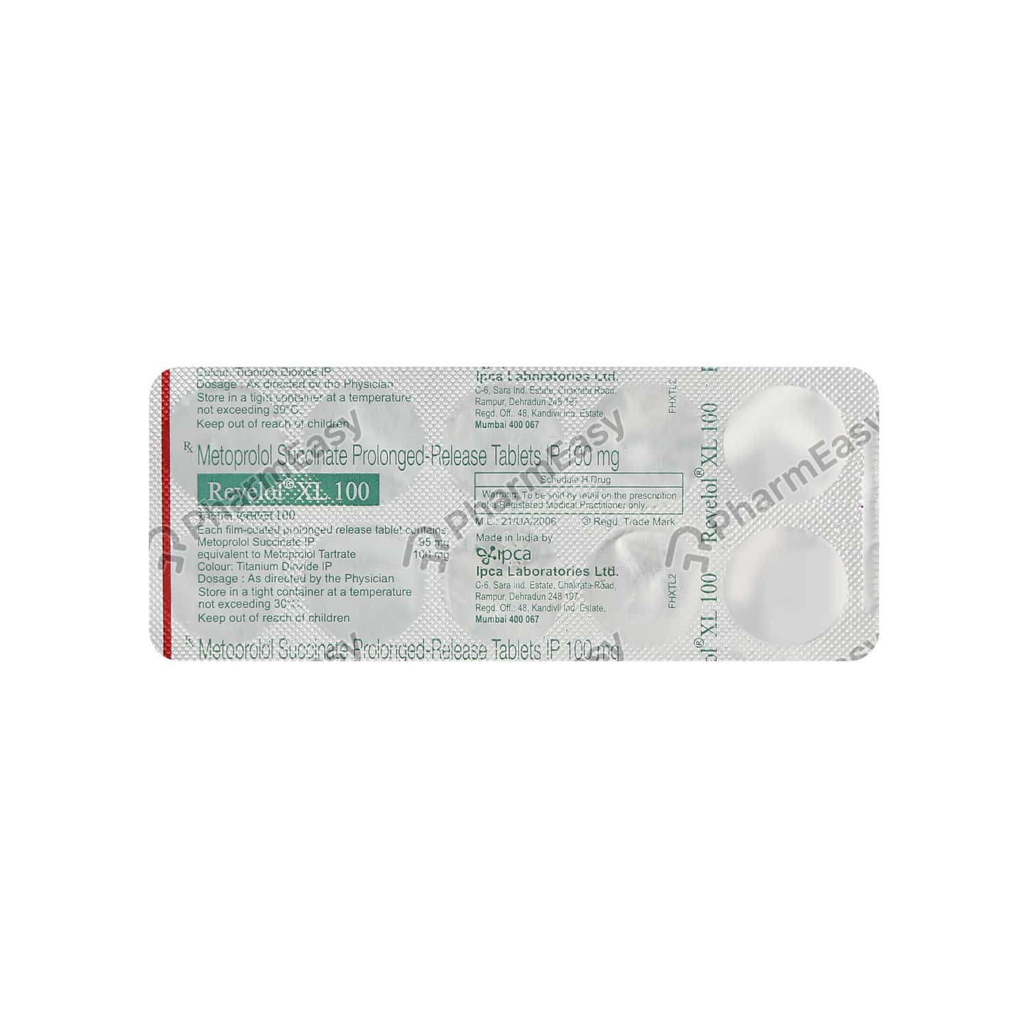 Revelol Xl 100mg Tablet