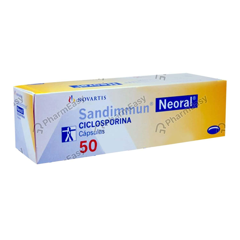 Sandimmun Neoral 50mg Capsule 50's