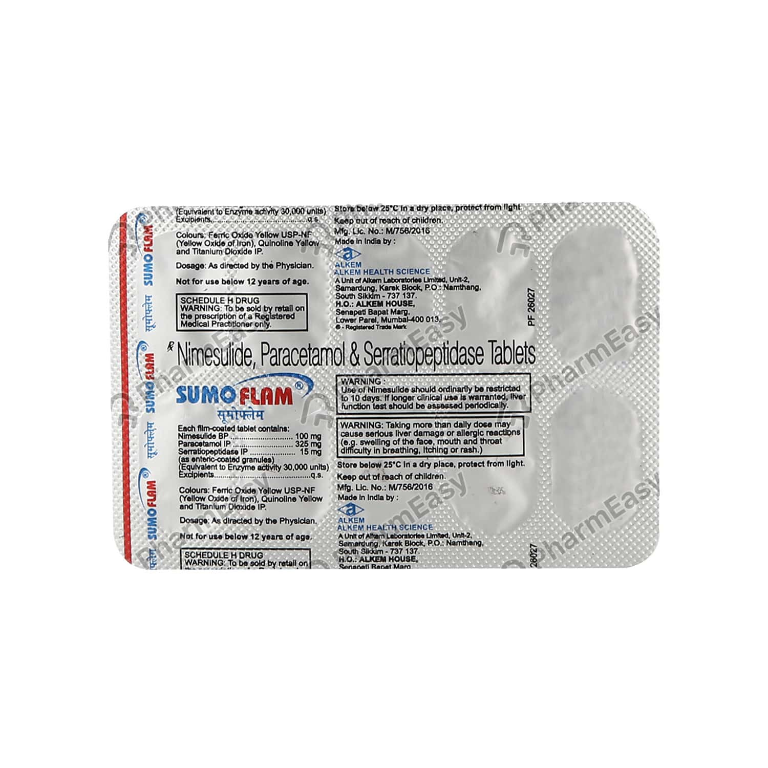 Sumoflam Strip Of 10 Tablets