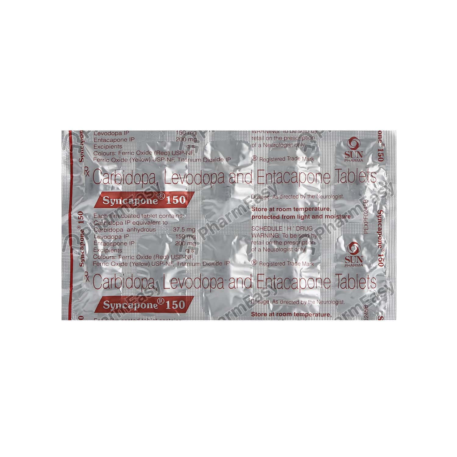 Syncapone 150mg Tablet