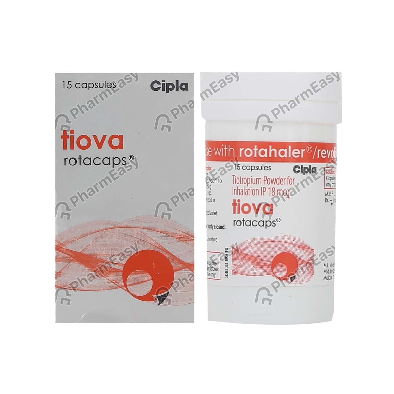 Tiova Rotacap Bottle Of 15 Inhalation Capsules