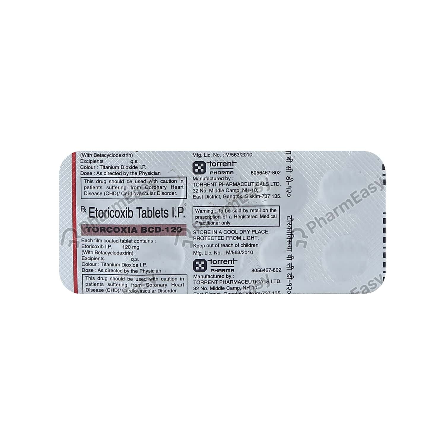 Torcoxia Bcd 120mg Tablet
