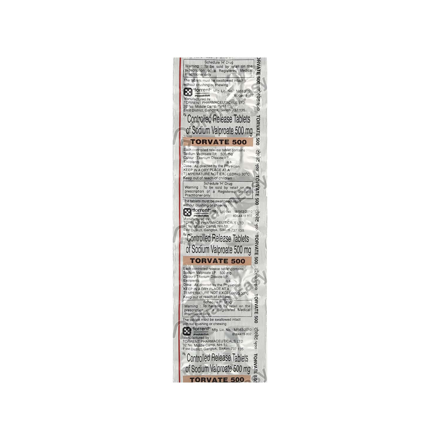 Torvate 500mg Tablet