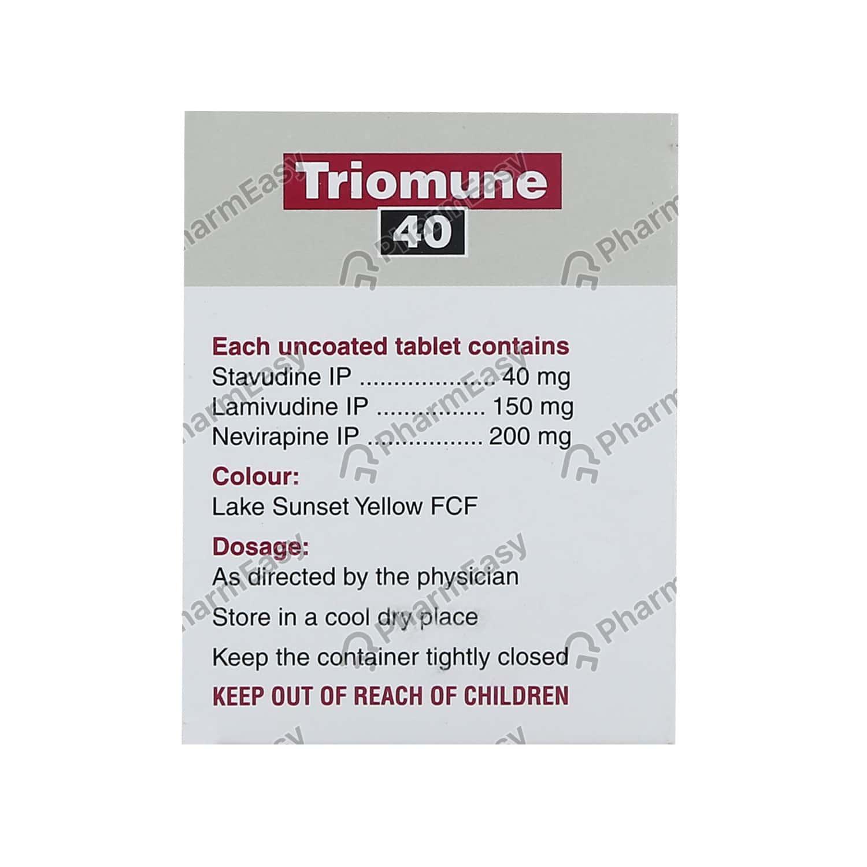 Triomune 40mg Tablet