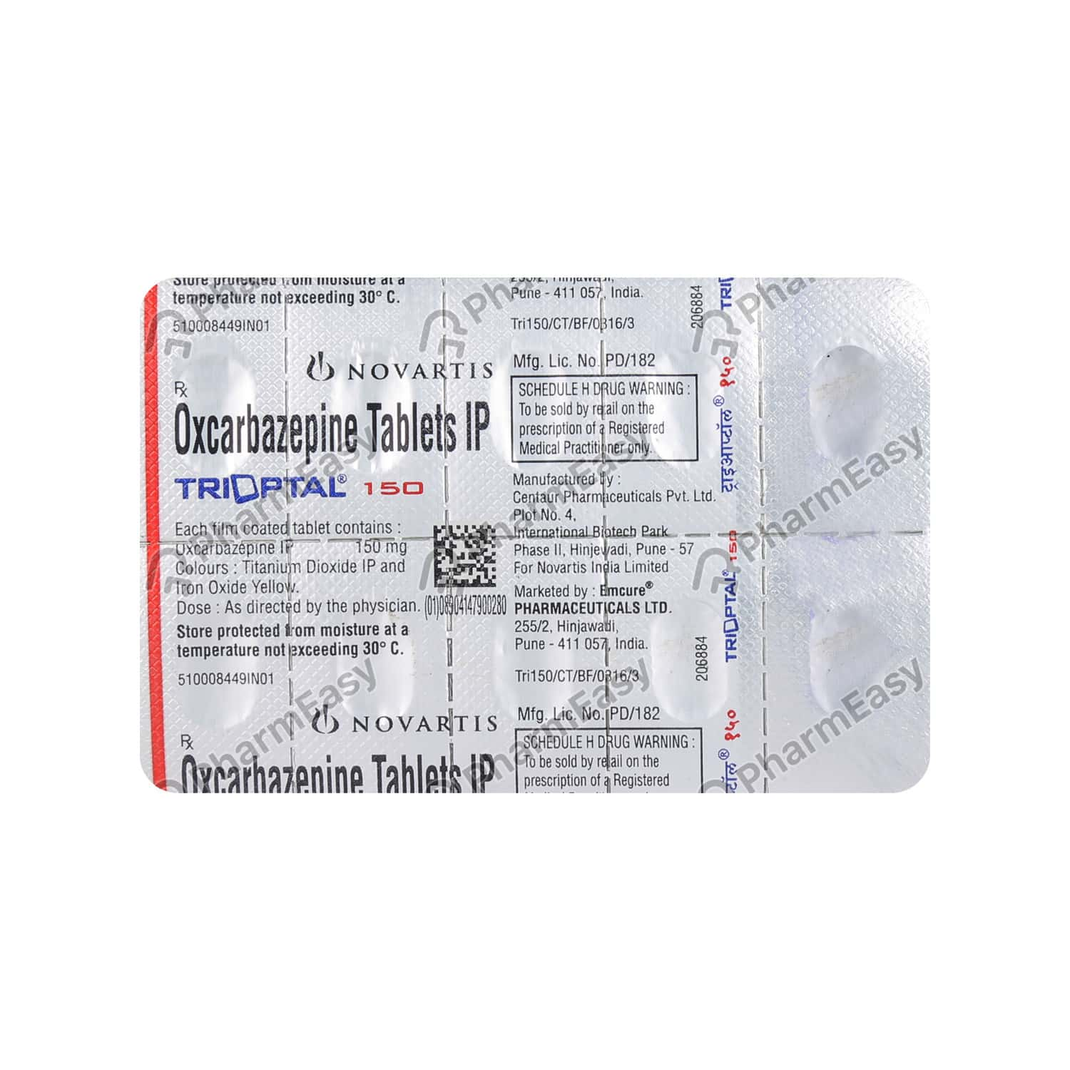 Trioptal 150mg Tablet