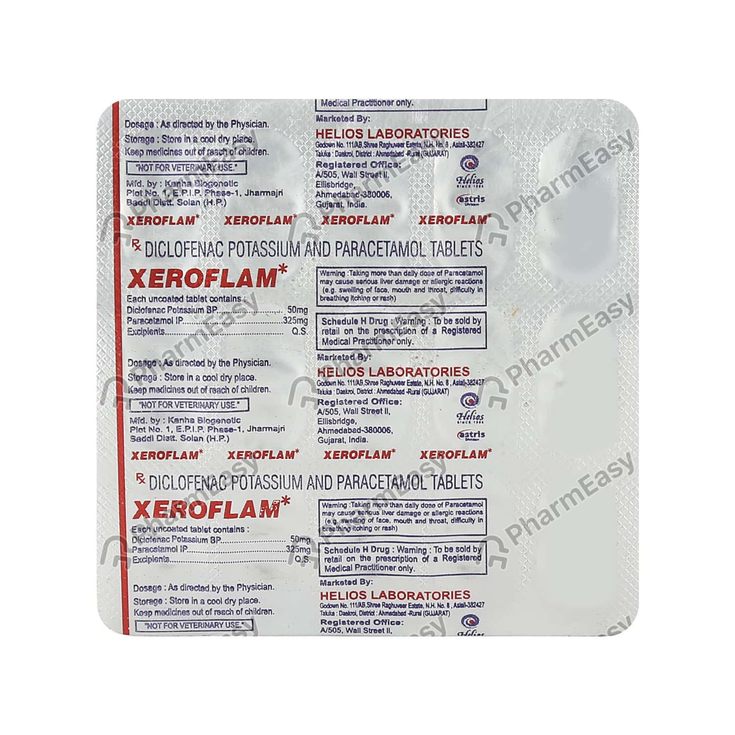Xeroflam Tablet