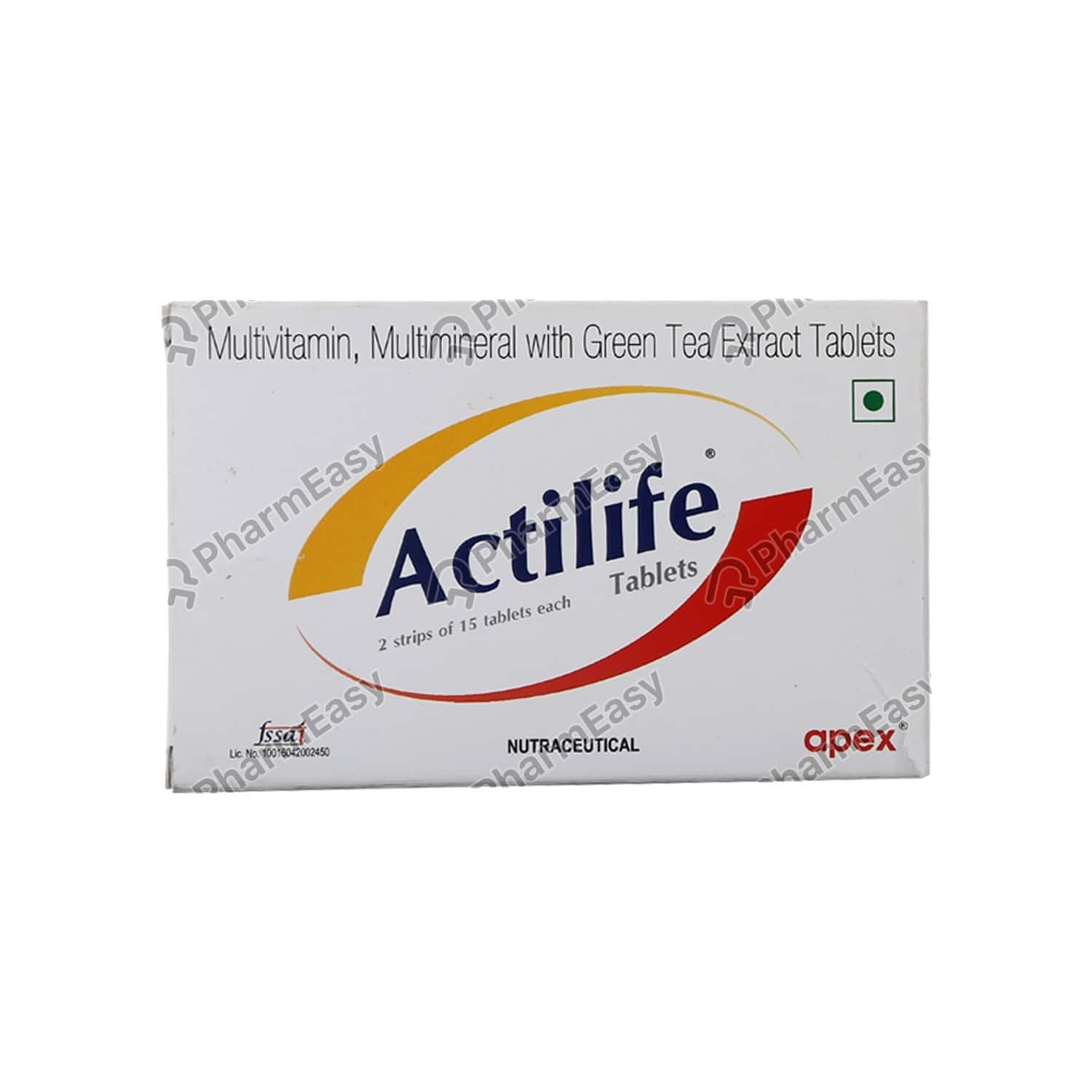 Actilife Strip Of 15 Tablets