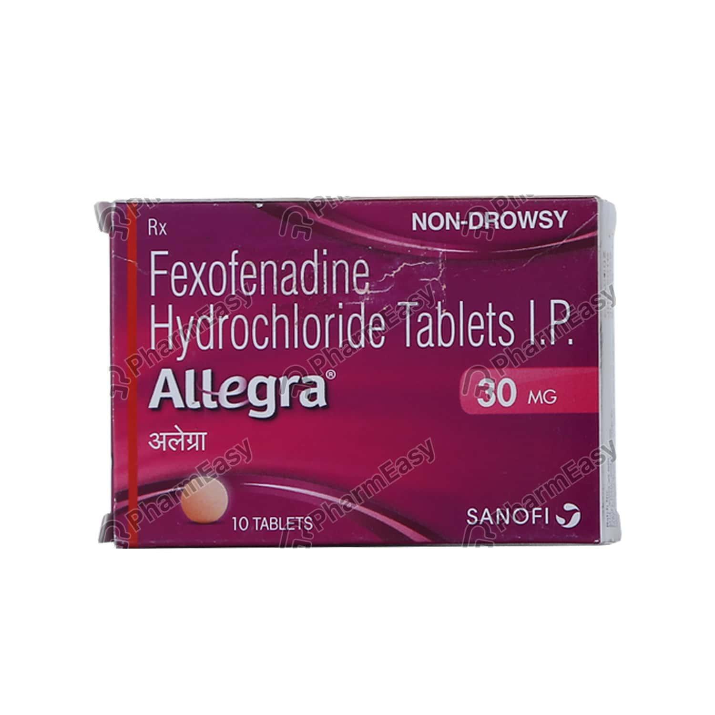 Allegra 30mg Tablet