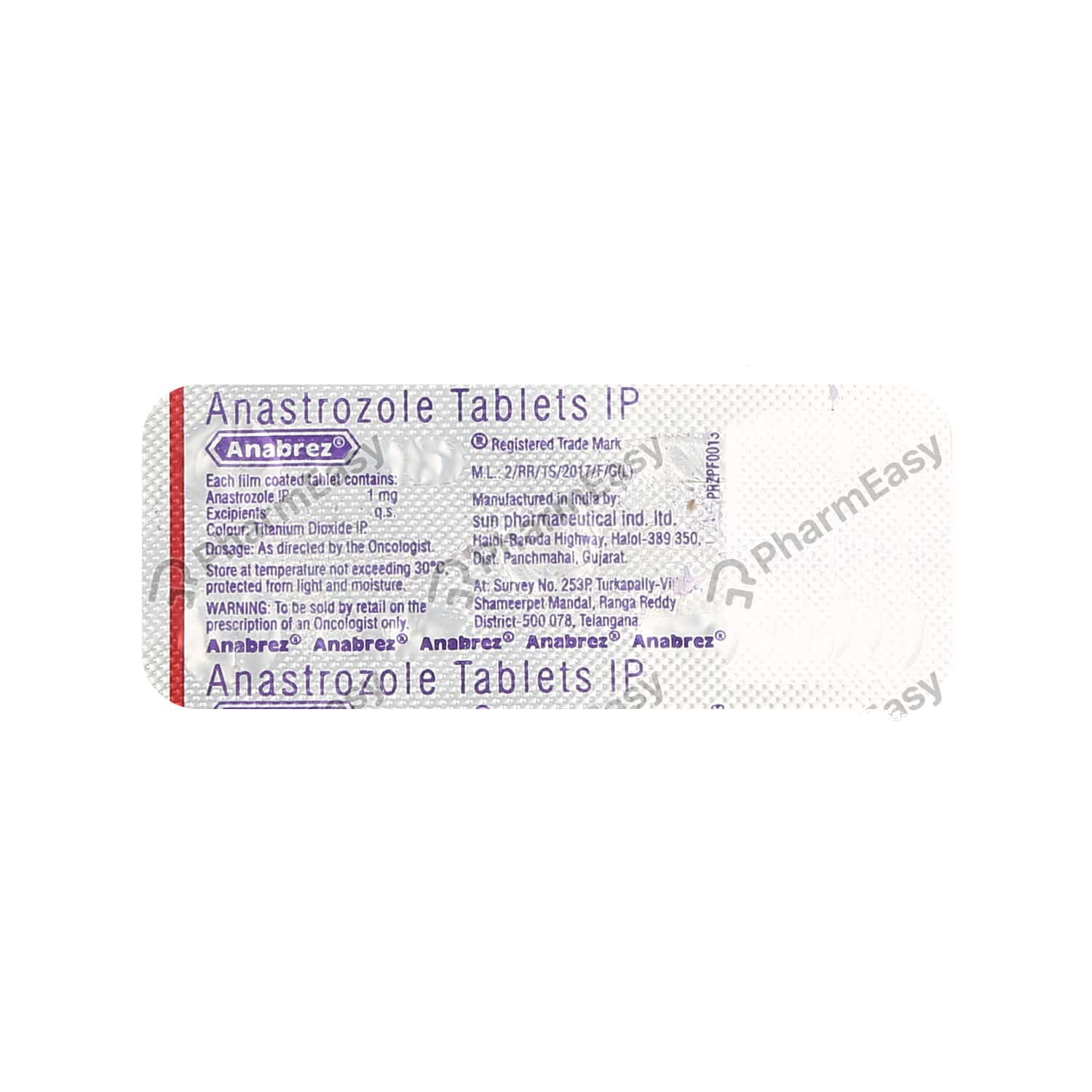 Anabrez 1mg Tablet
