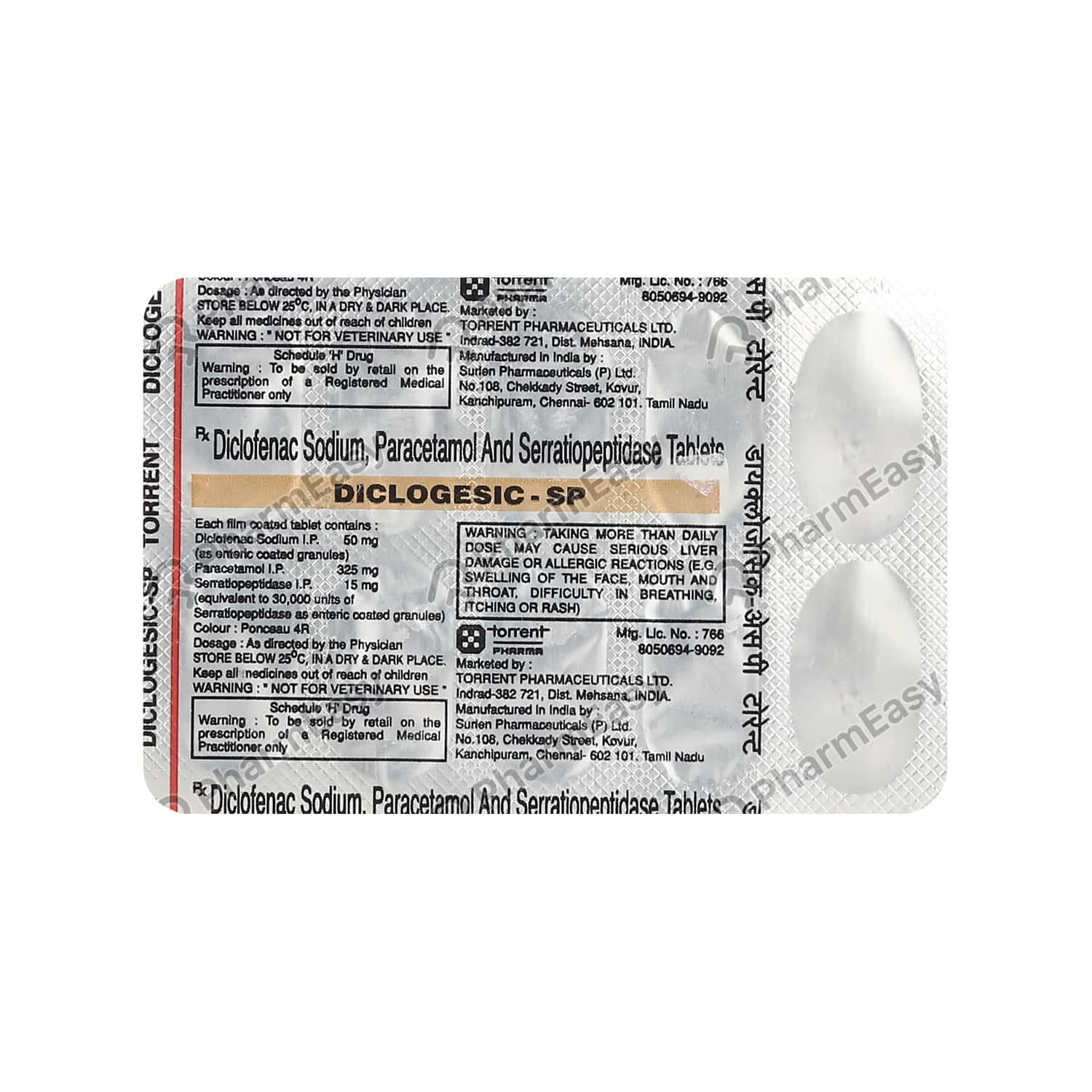 Diclogesic Sp Tablet