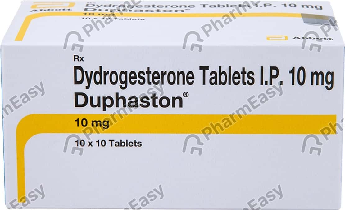 Duphaston 10mg Strip Of 10 Tablets