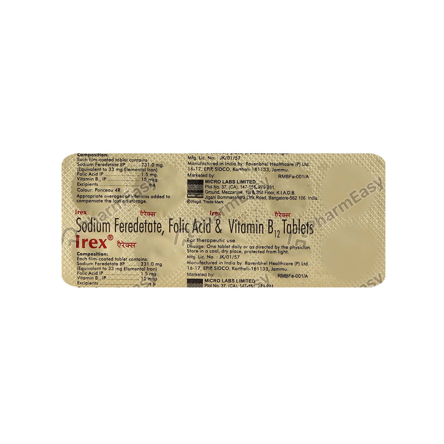 Irex Strip Of 10 Tablets