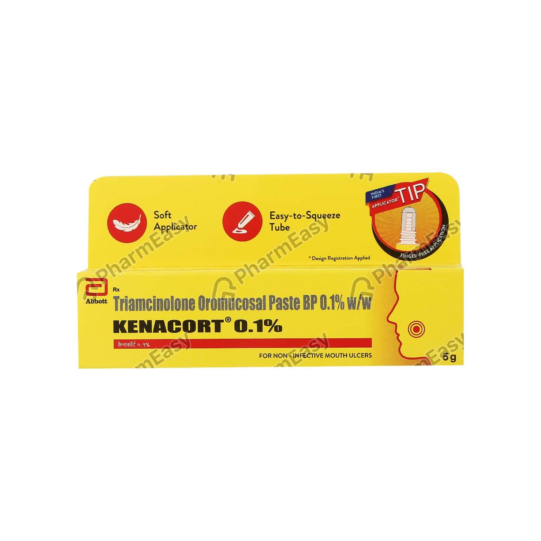 Kenacort 0.1% Oral Paste 5gm