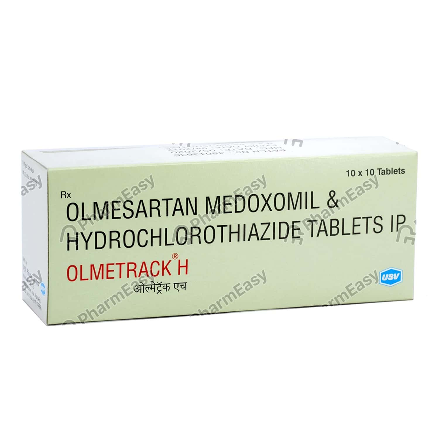 Olmetrack H 20mg Tablet