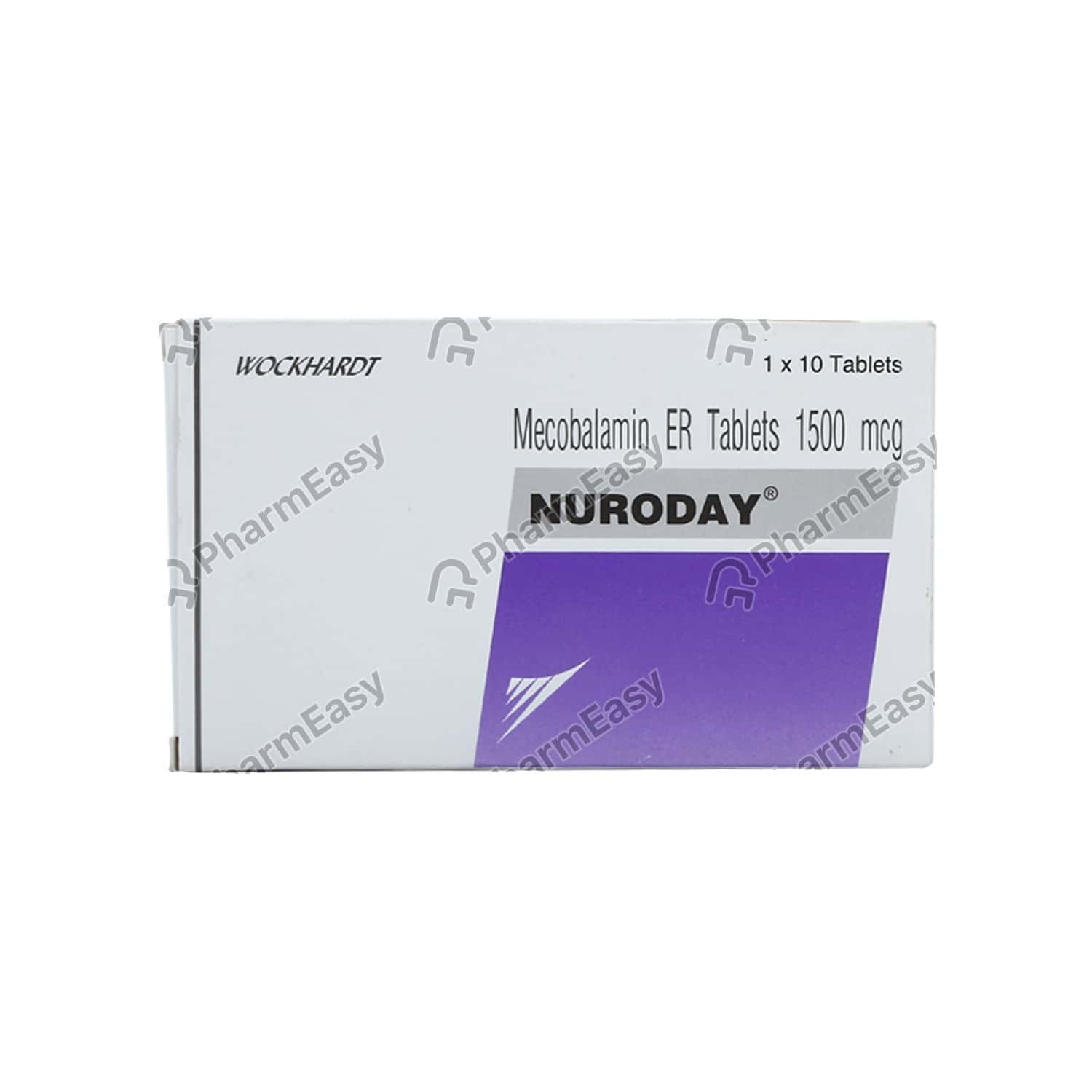Nuroday 1500mcg Strip Of 10 Tablets