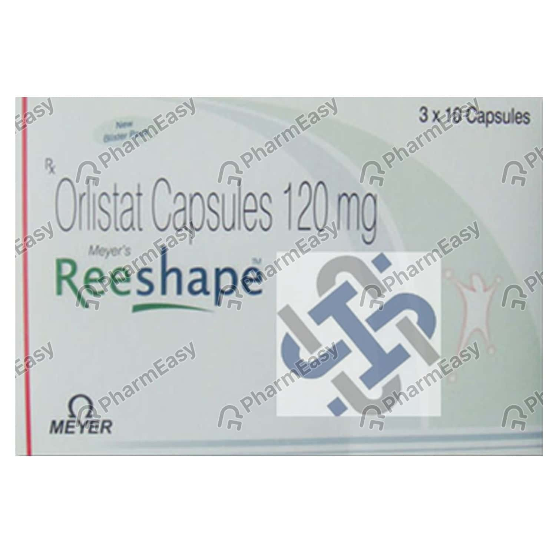 Reeshape 120mg Strip Of 10 Capsules