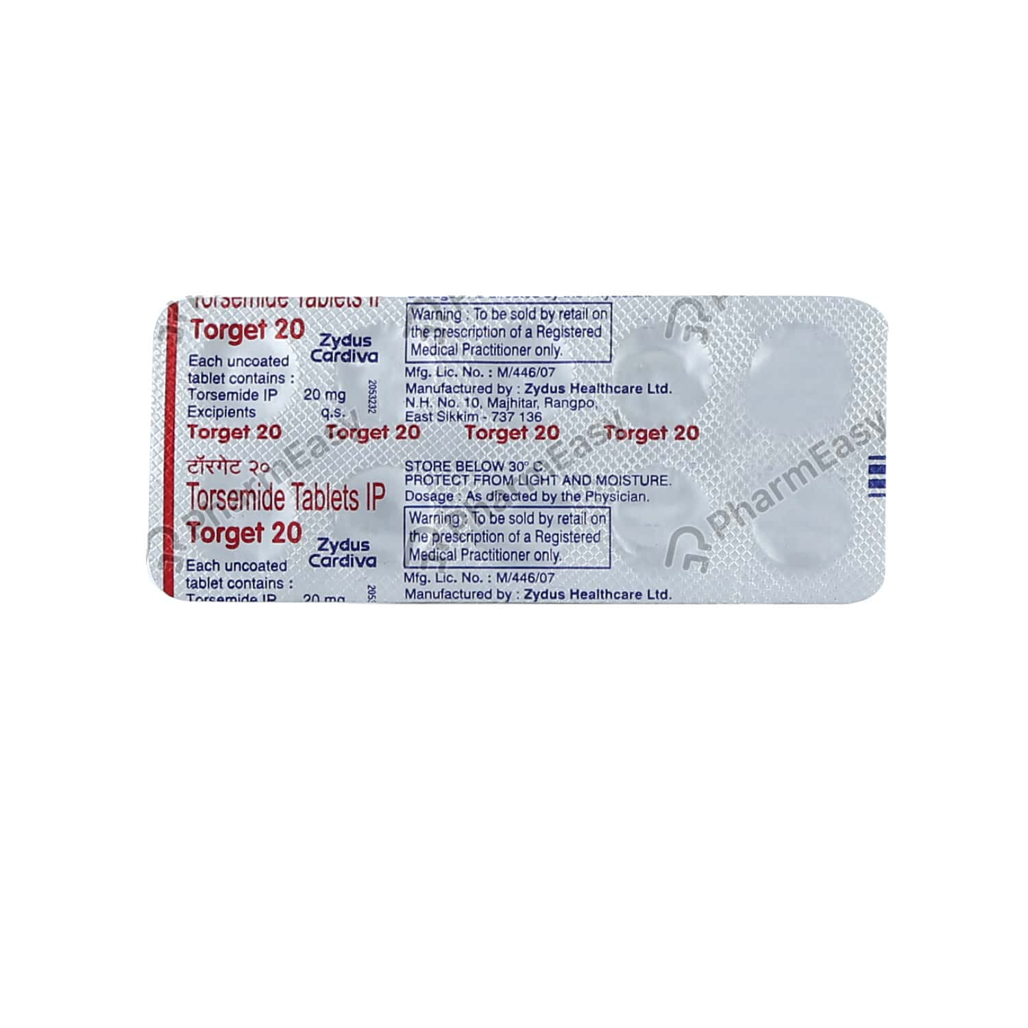 Torget 20mg Tablet