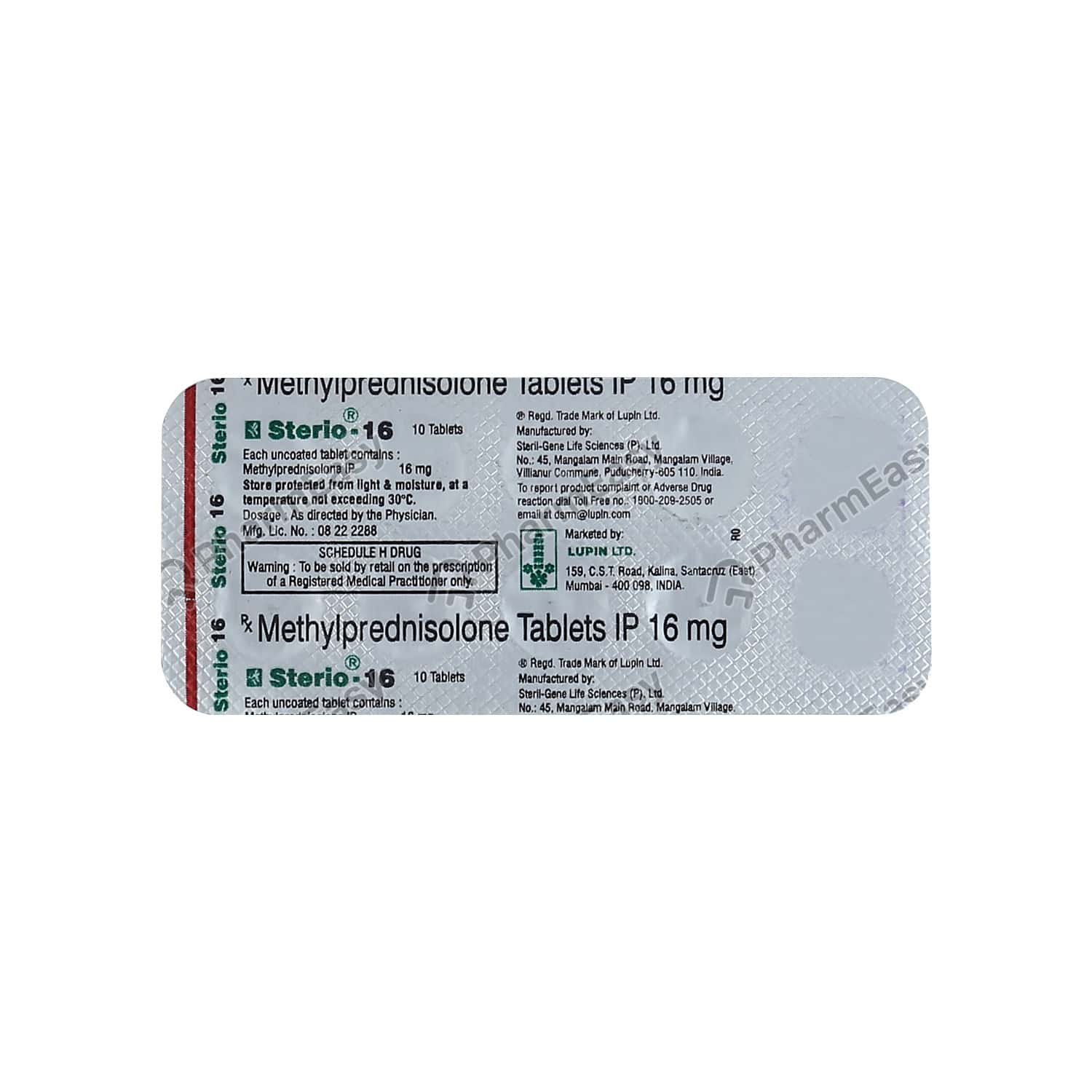 Sterio 16mg Tablet