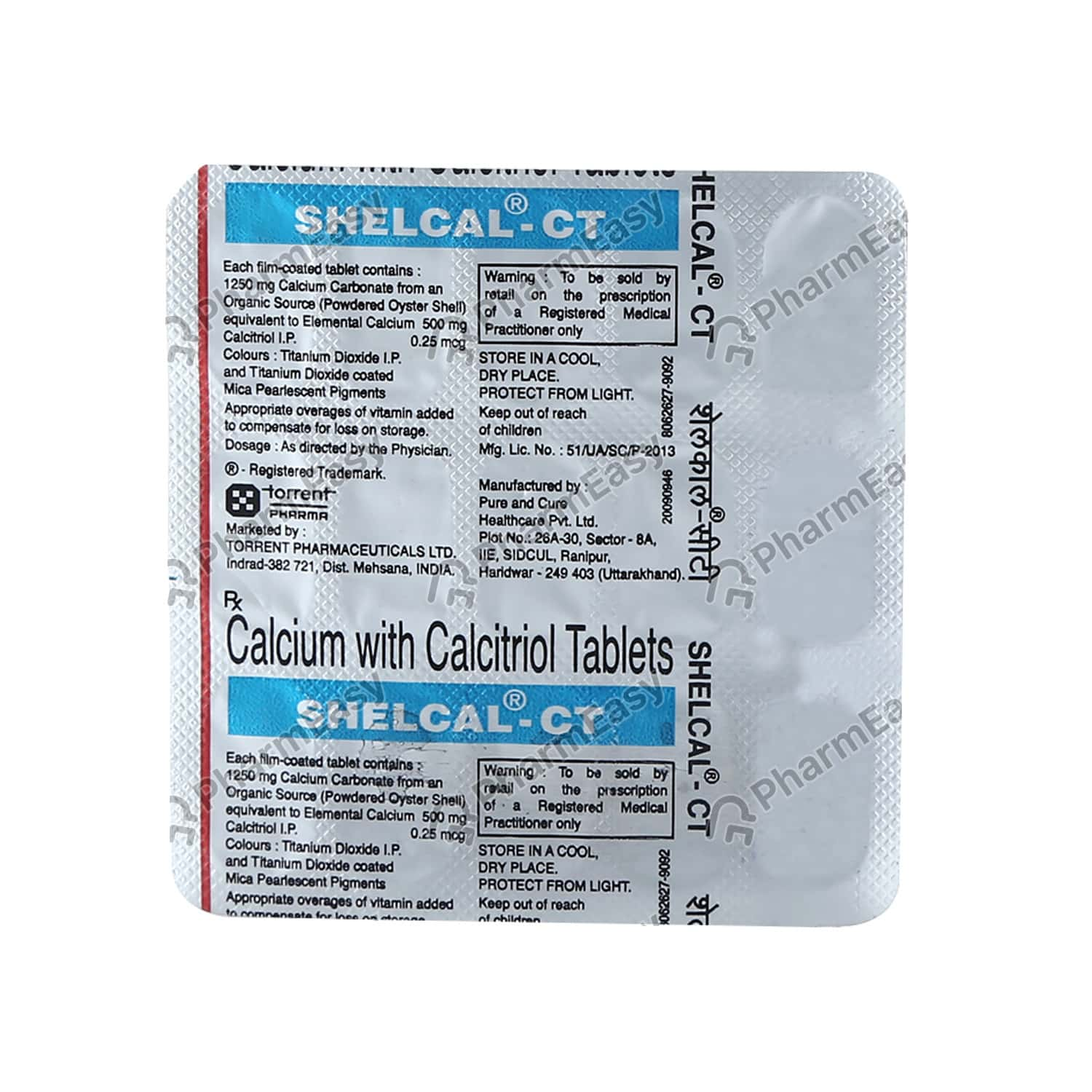 Shelcal Ct Strip Of 15 Tablets