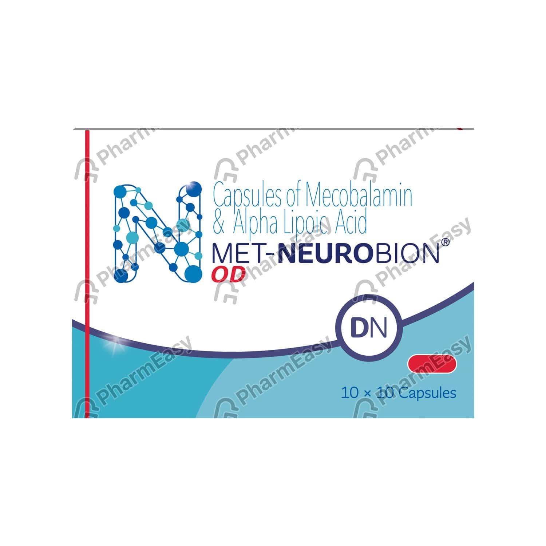 Met Neurobion Od Dn Strip Of 10 Capsules