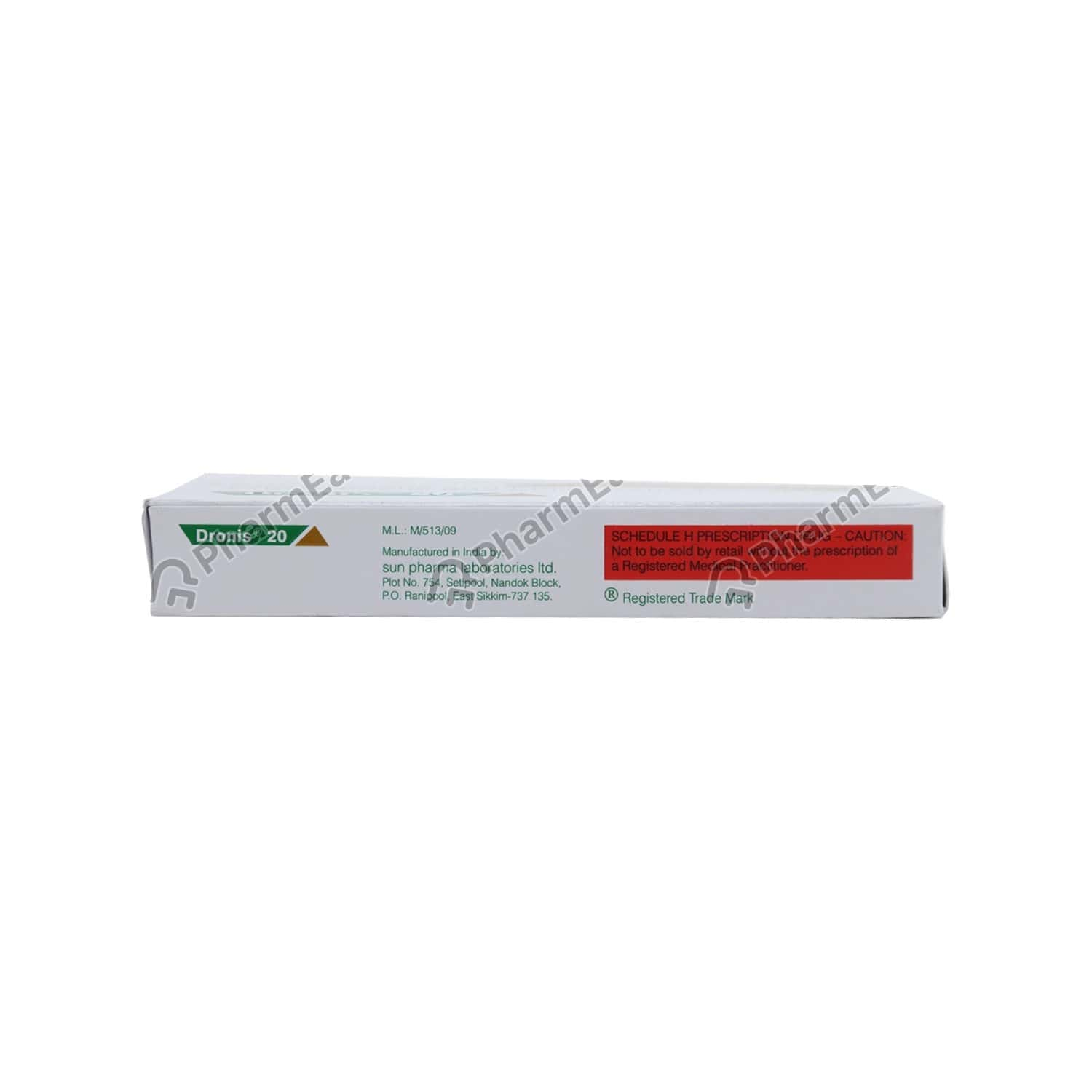 Dronis 20 Strip Of 24 Tablets