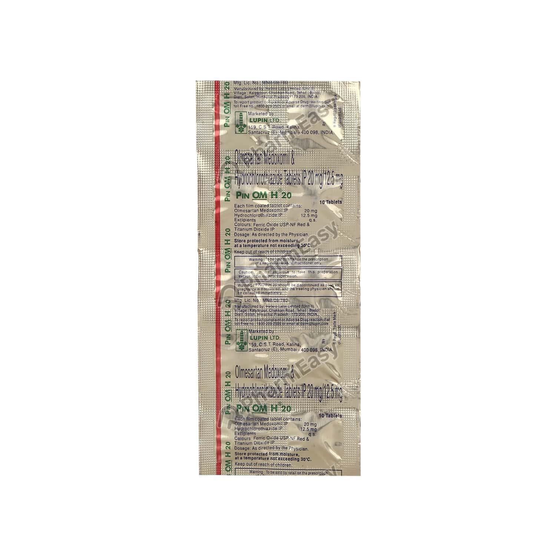 Pinom H 20mg Strip Of 10 Tablets