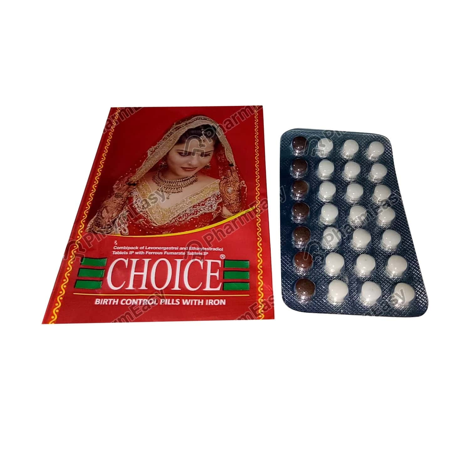 Choice Strip Of 28 Tablets