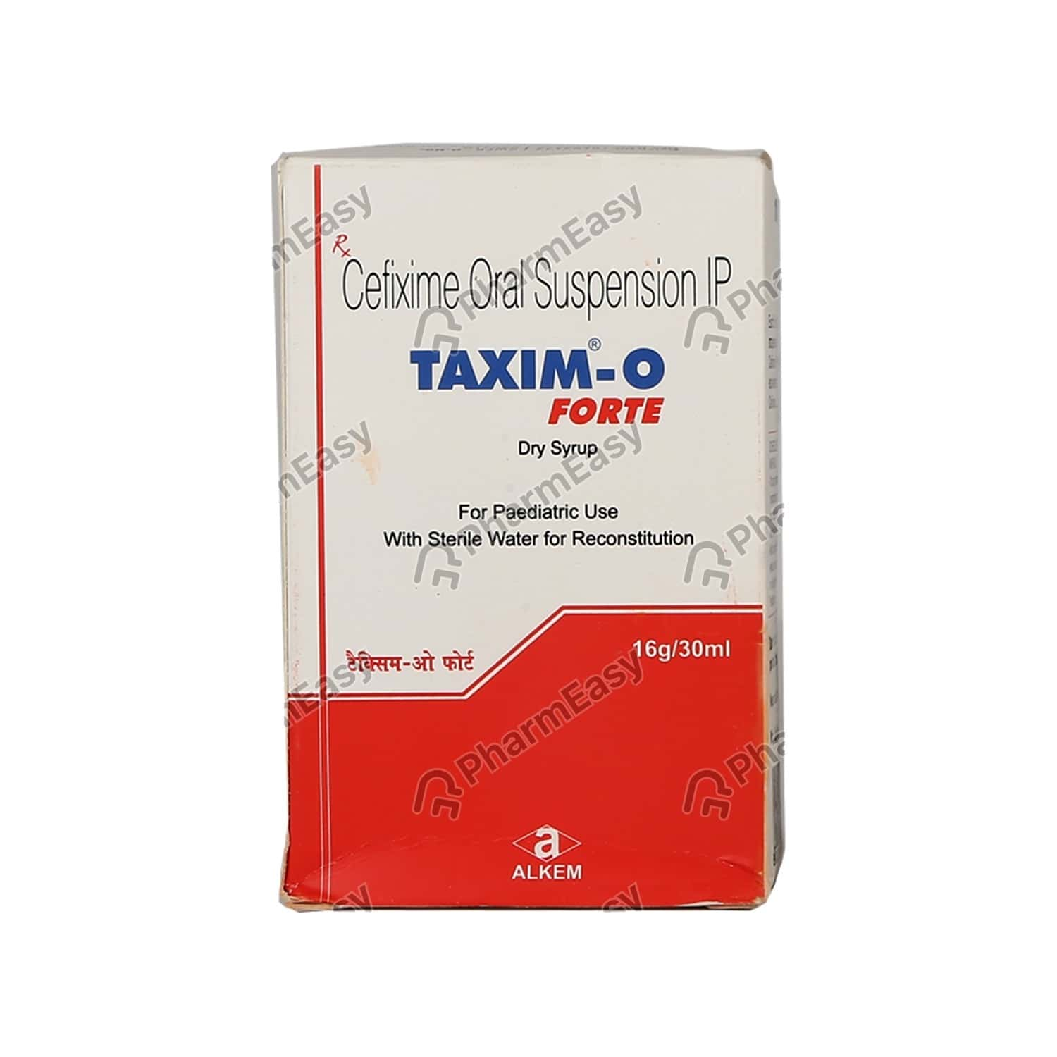 Taxim O Forte Bottle Of 30ml Dry Syrup