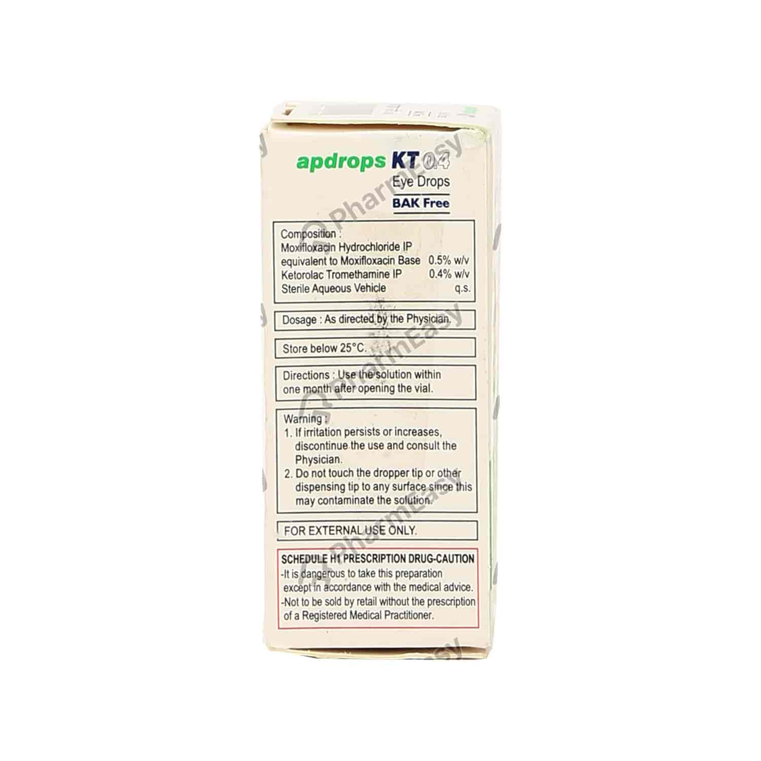 Apdrops Kt Eye Drops 5ml