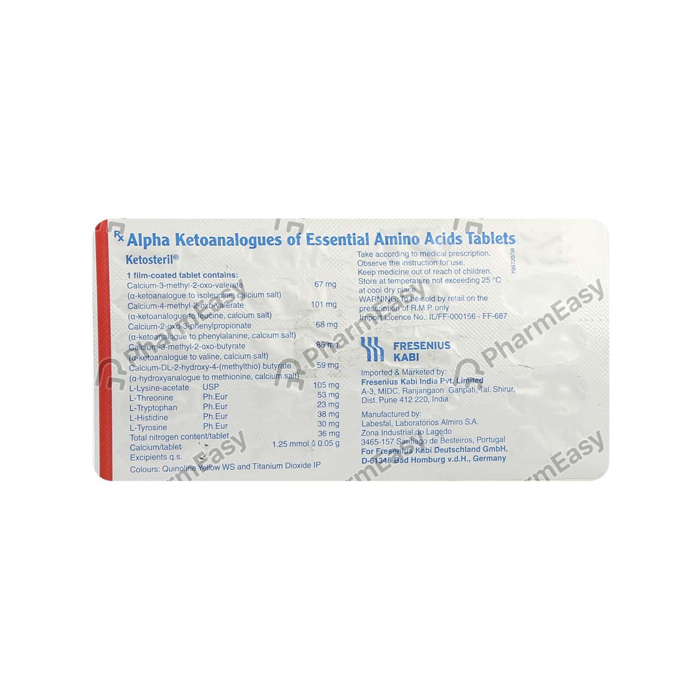 Ketosteril Tablet 20's