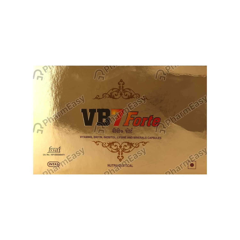 Vb7 Forte Capsule 10's