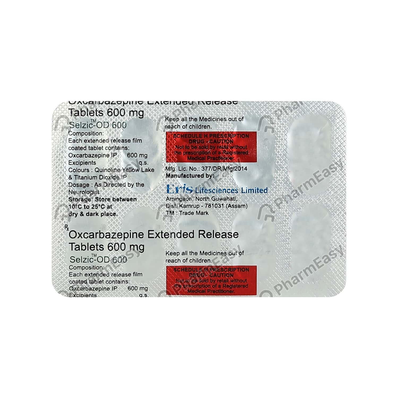 Selzic Od 600mg Tablet