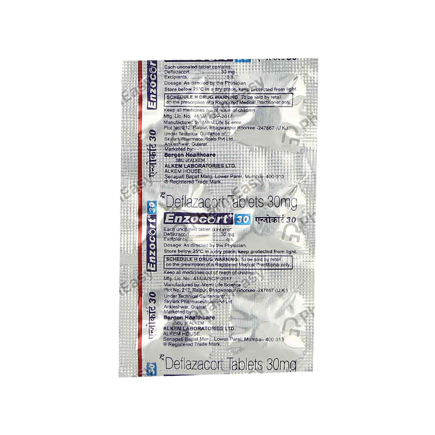 Enzocort 30mg Tablet