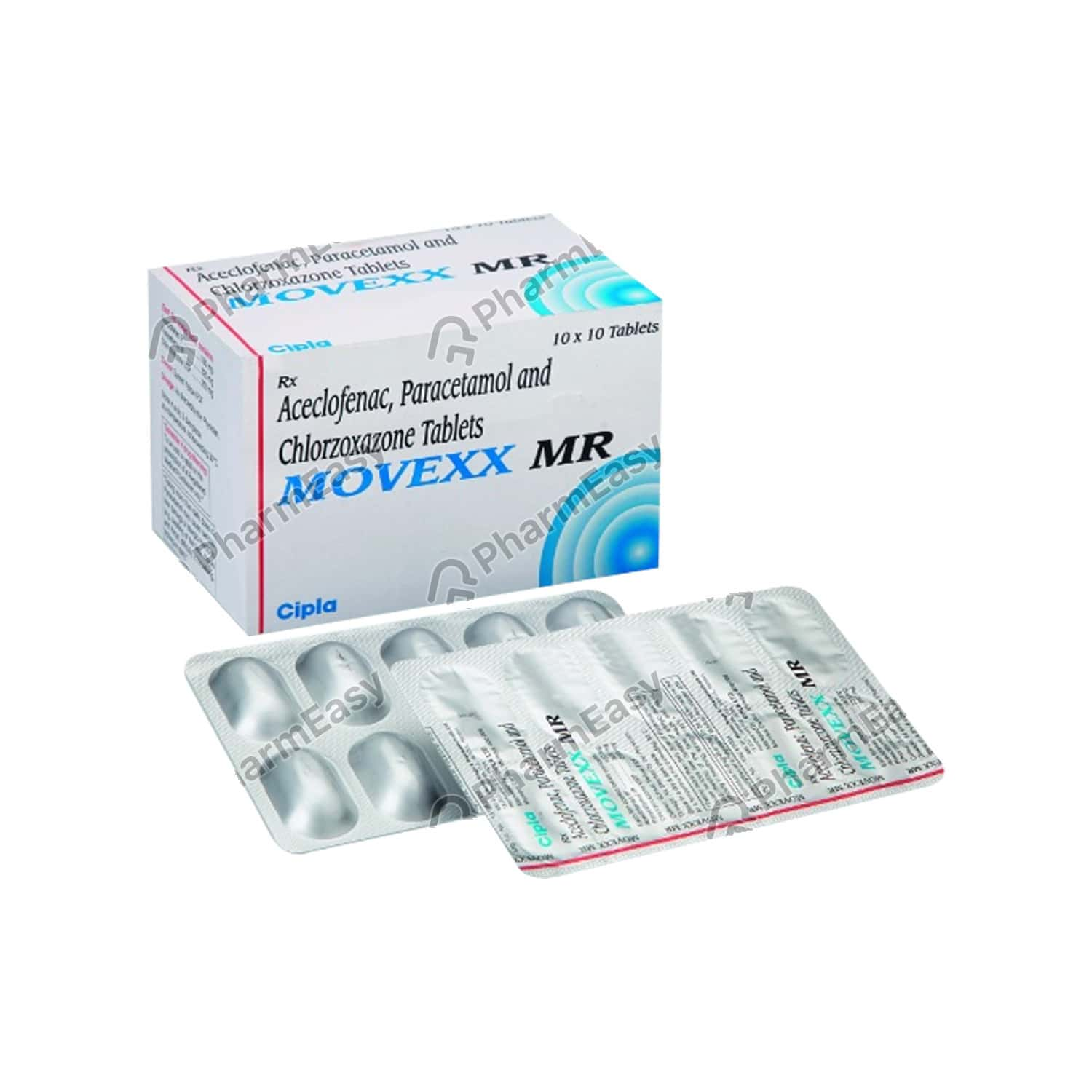 Movexx Mr Strip Of 10 Tablets