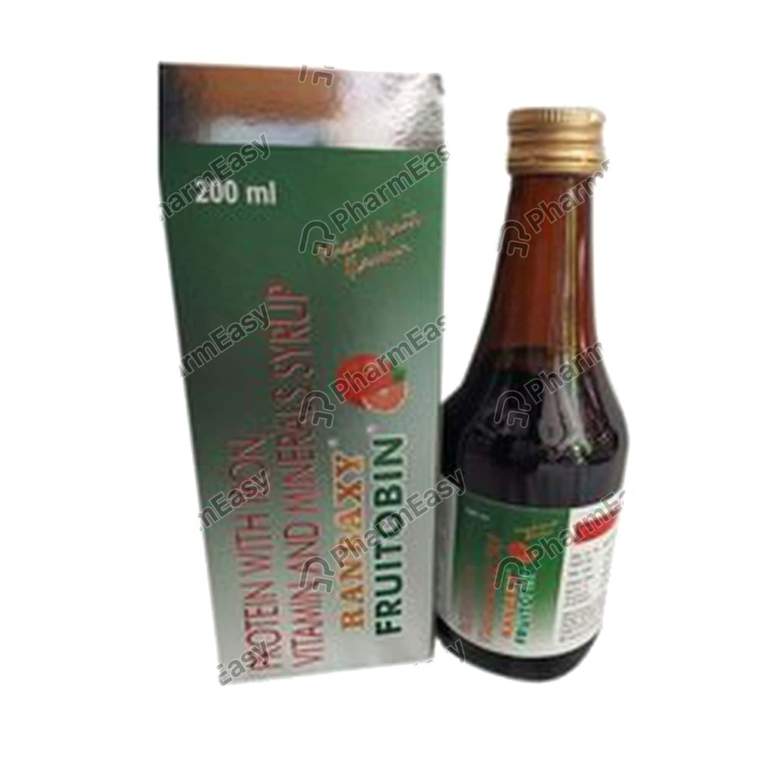 Fruitobin Mixed Fruit Flavour Syrup 200ml