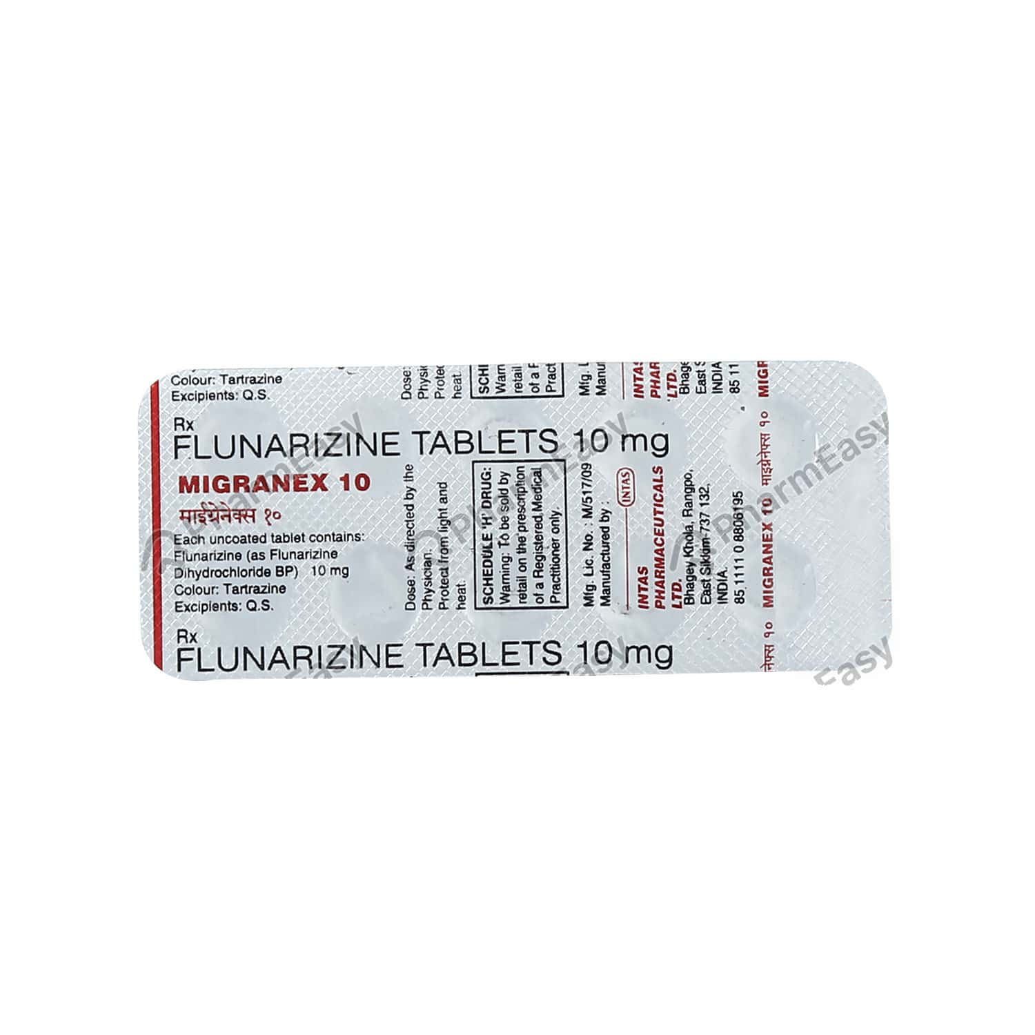 Migranex 10mg Tablet