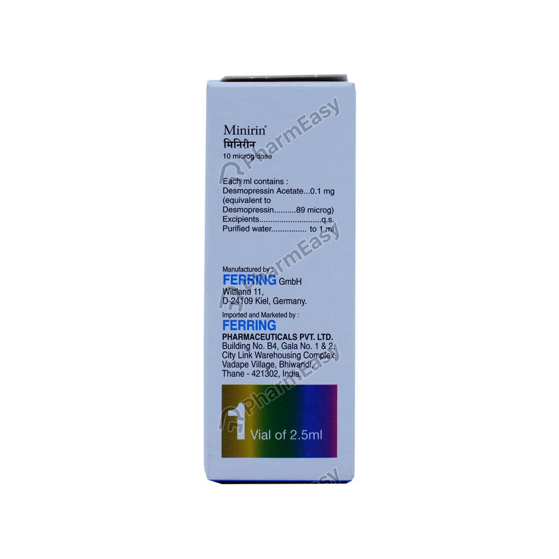 Minirin Nasal Spray 2.5ml
