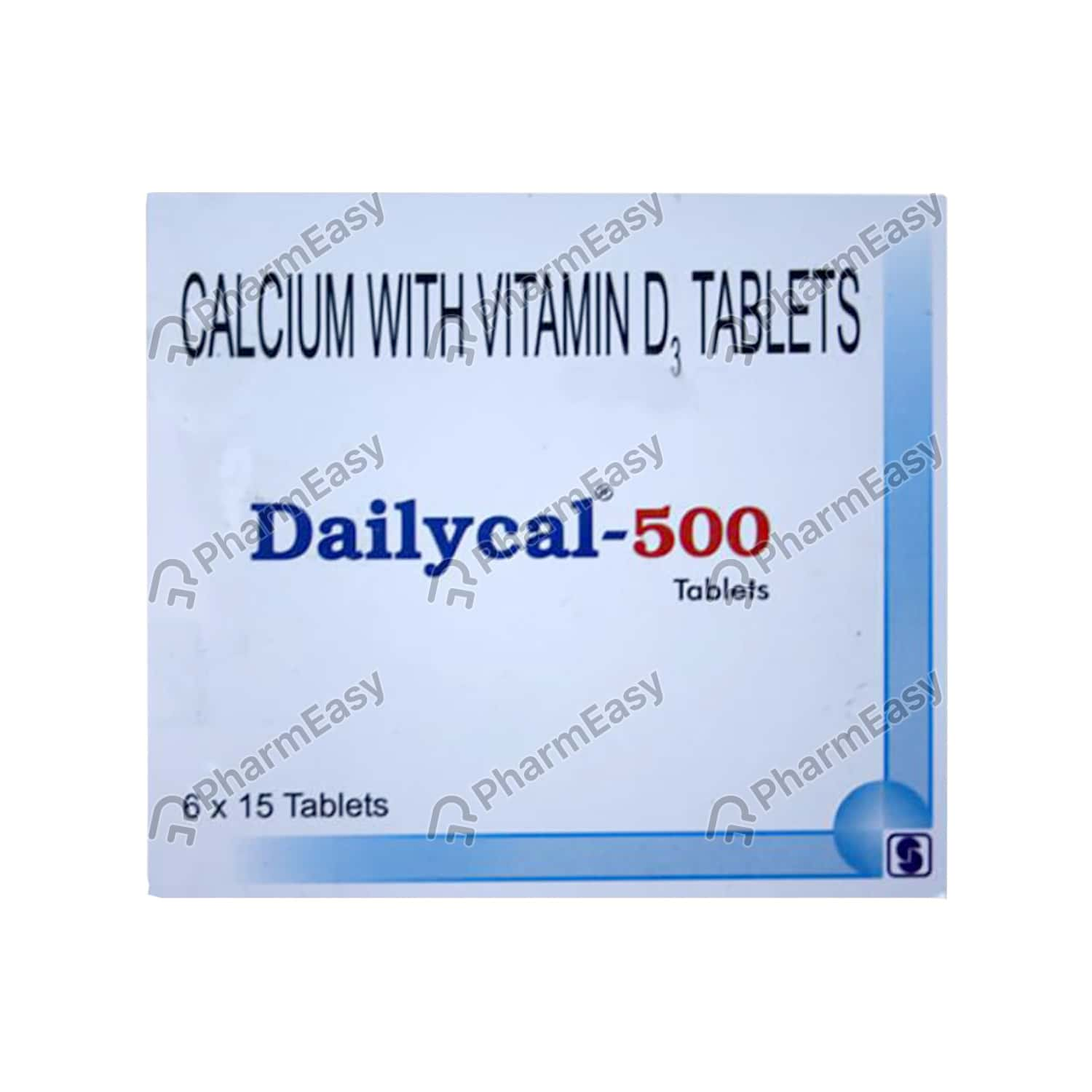 Dailycal 500mg Tablet