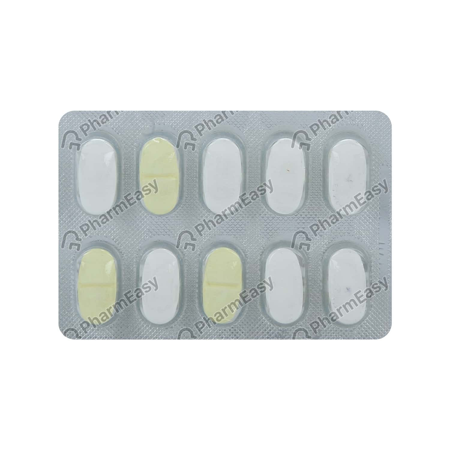 Exermet Gm Forte 1mg Strip Of 10 Tablets