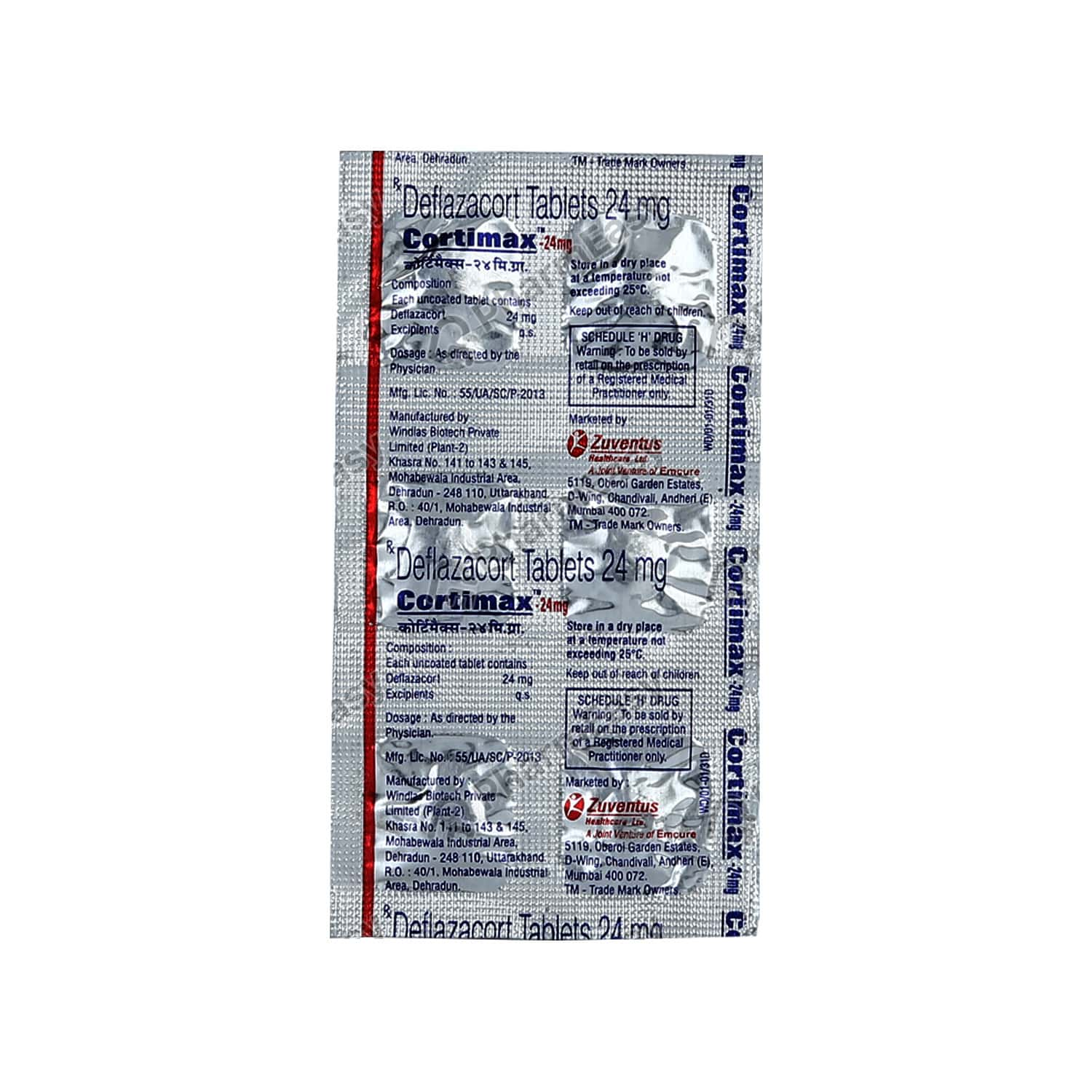 Cortimax 24mg Tablet