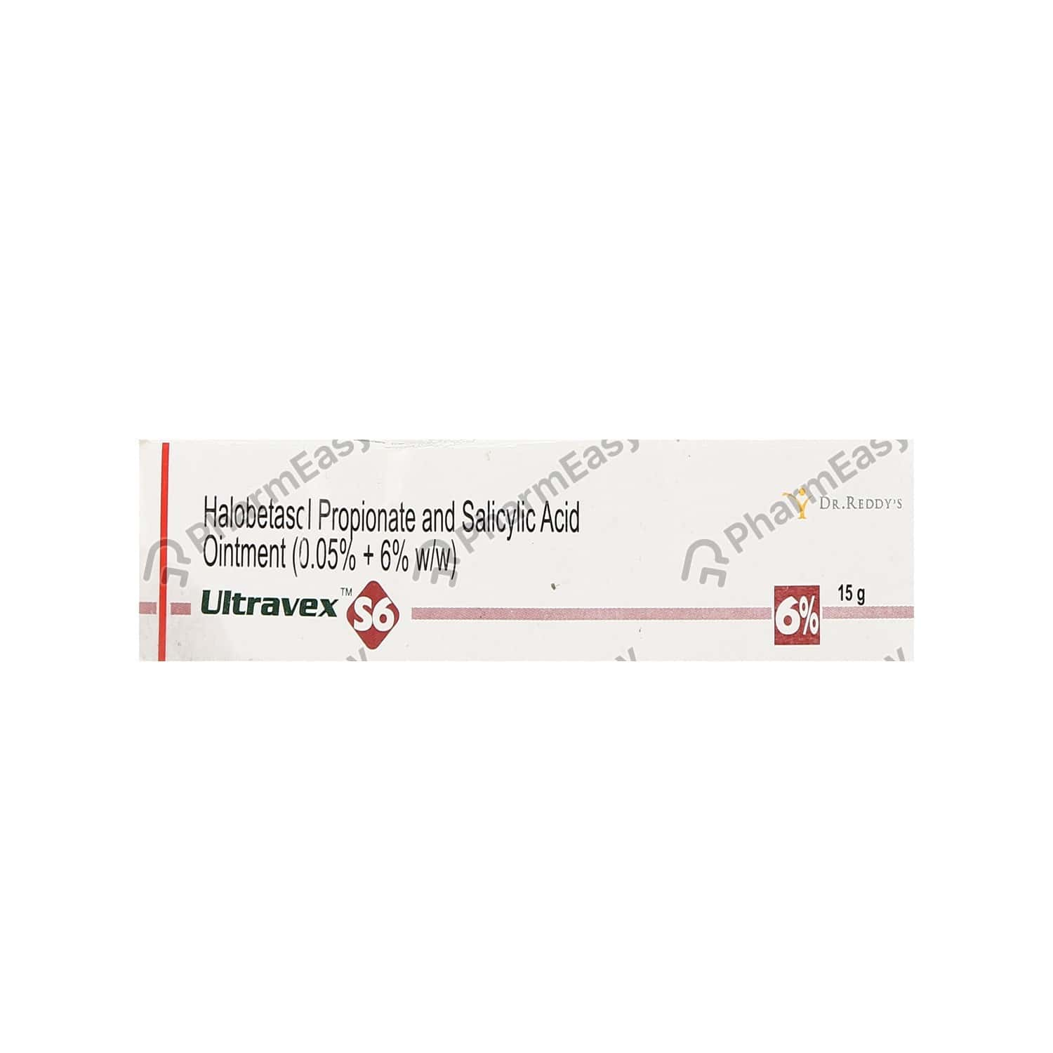 Ultravex S6 Tube Of 15gm Ointment