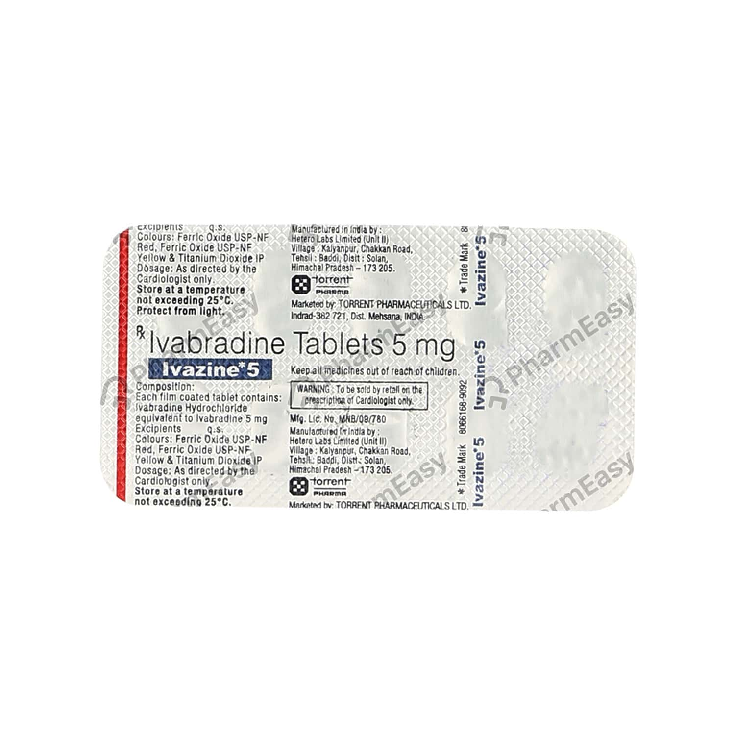 Ivazine 5mg Tablet
