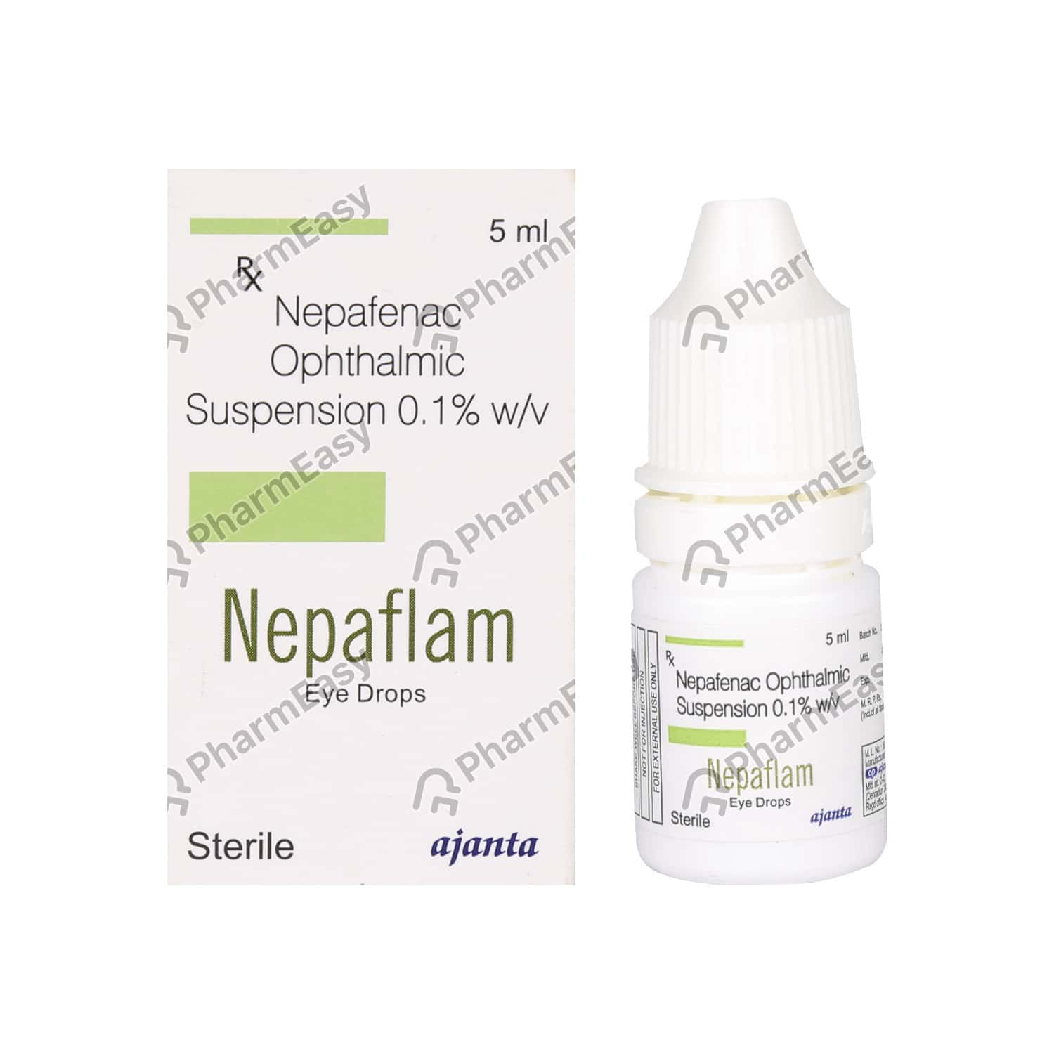 Nepaflam 0.1% Eye Drops