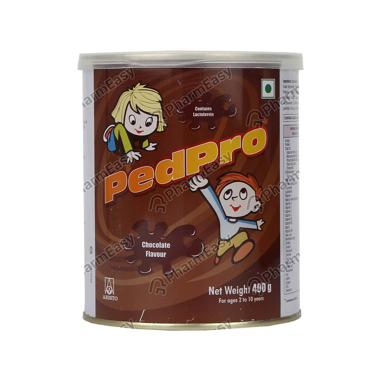 Pedpro Chocolate Flavour Tin Of 400gm Powder