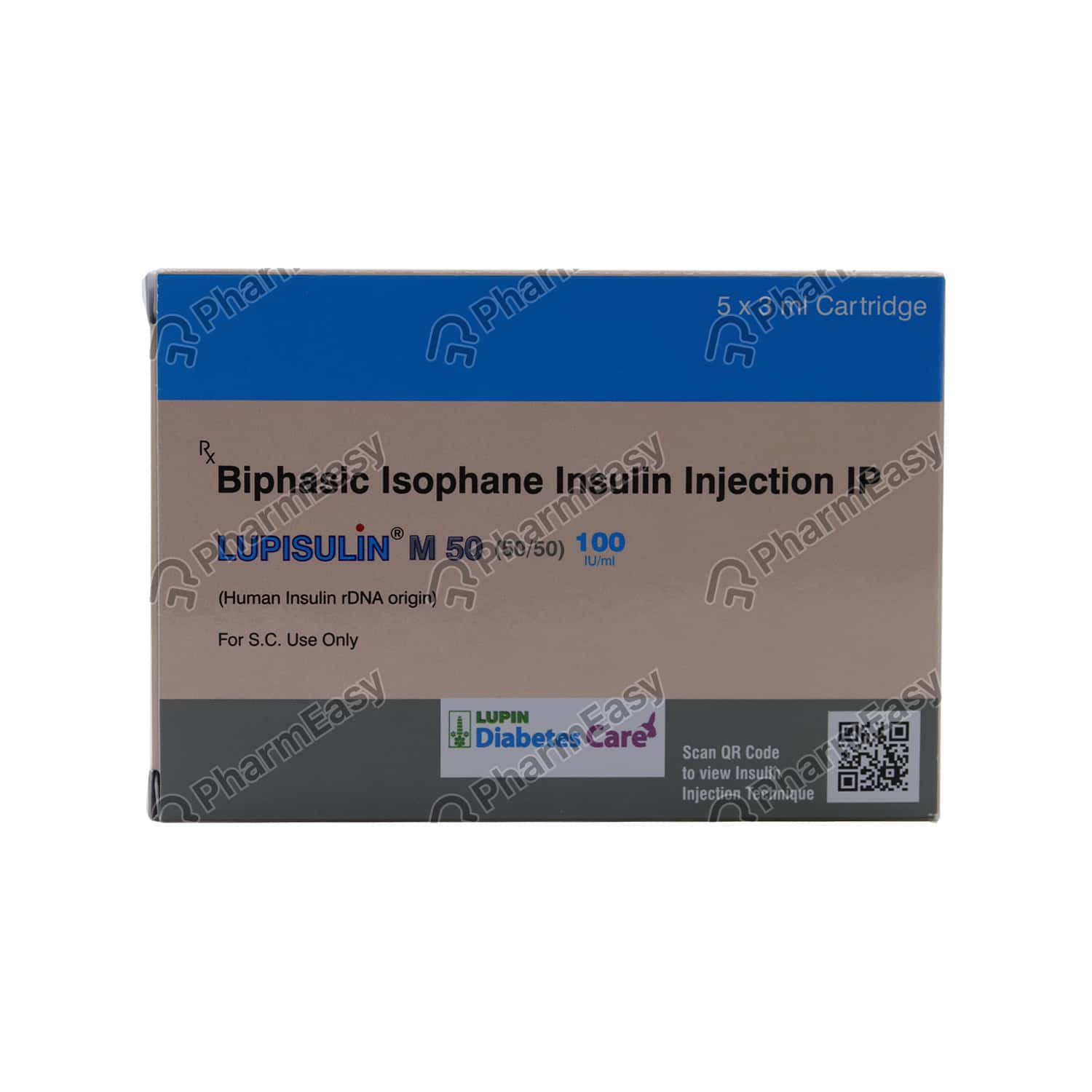 Lupisulin M50 50/50 100iu Cartridge 3ml
