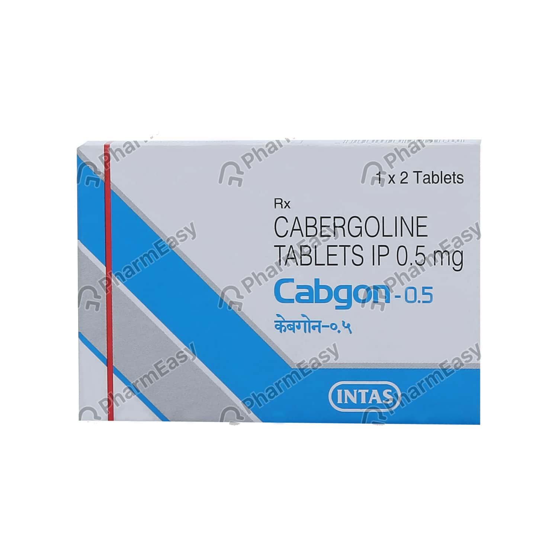 Cabgon 0.5mg Tablet
