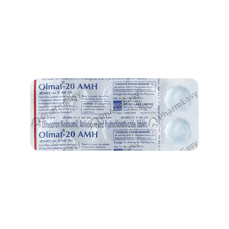 Olmat Amh 20mg Tablet